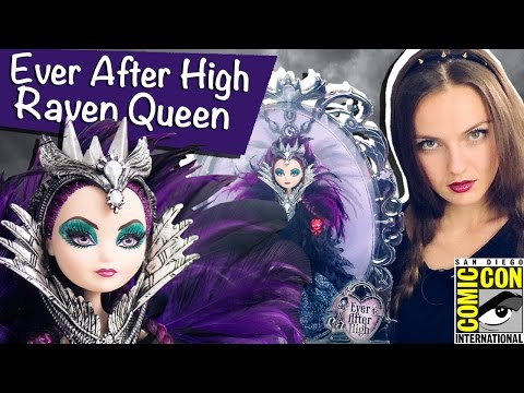 Raven Queen SDCC 2015 (Рейвен Квин Комик Кон) Ever After High Обзор/Review, Comic Con,CJF47