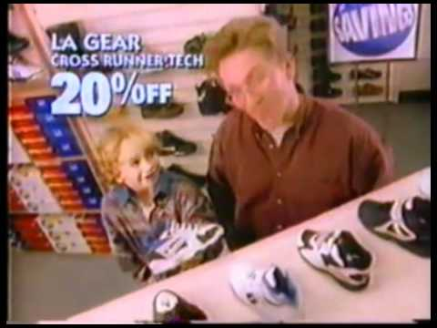Famous Footwear Christmas Commercial 1994