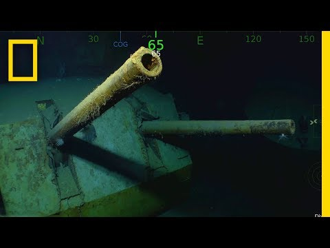 WWII Shipwreck USS Juneau Found—Famous for Five Sullivan Brothers | National Geographic