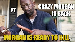 The Walking Dead Season 7 Discussion Saviors Better Watch Out For Crazy Morgan