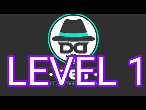 DET Solve The Mystery Level 1 Answers Walkthrough