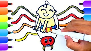Download Mp3 Bad BABY Spider Coloring Pages