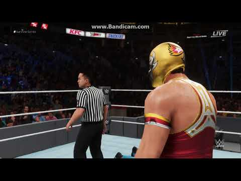 Grand Metalik vs Kalisto and Roman Reigns ww2k18 thumbnail