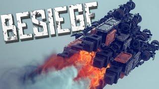 STEAM ROCKETS - Besiege Alpha Sandbox
