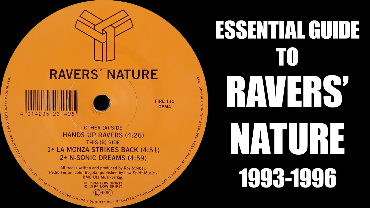 [90s Rave & Hard Trance] Essential Guide To Ravers' Nature (1993-1996) [170-190bpm]