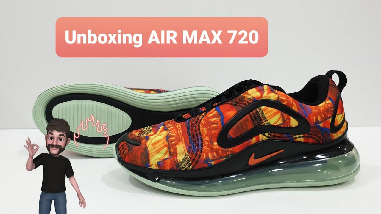 Movilizar cómo paralelo  Unboxing Nike Air Max 720 - YouTube