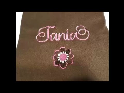 Two Tone Name Embroidery Designs DIY with Sew What Pro!