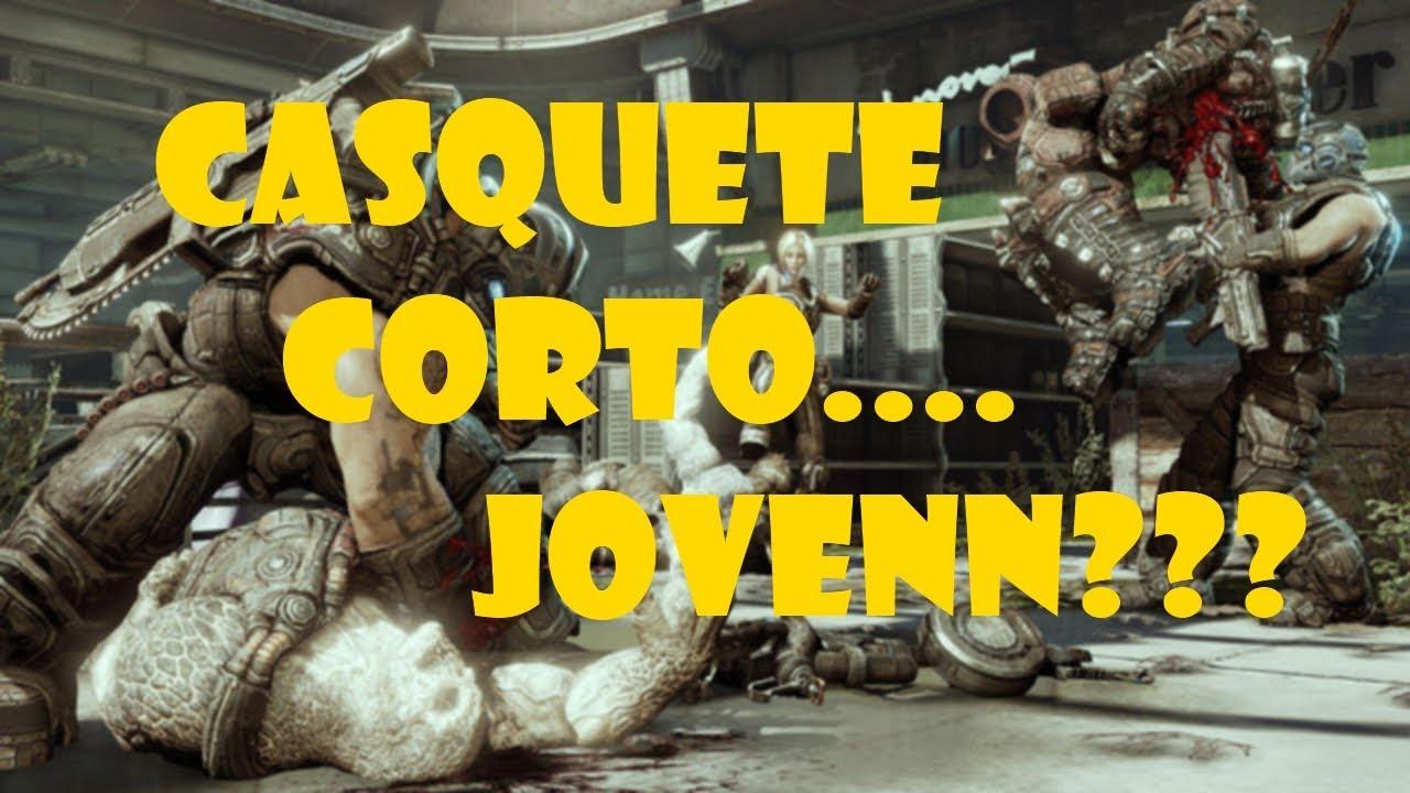 Casquete Corto Joven Gears Of War 3 YouTube