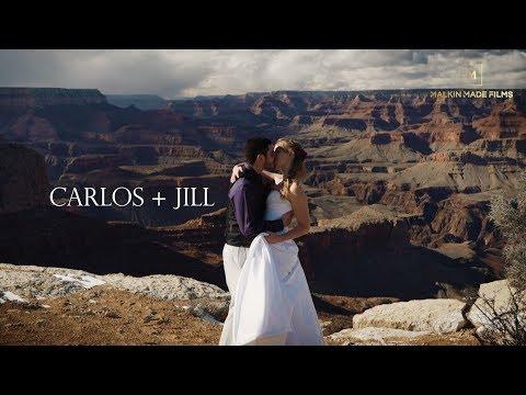 Grand Canyon Wedding | Carlos + Jill Highlight Wedding Film