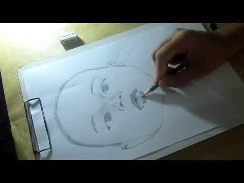 Wow Cara Mudah Menggambar Sketsa Bayi Youtube