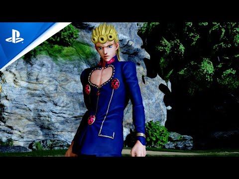 Jump Force - Giorno Giovanna Launch Trailer | PS4
