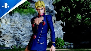 Jump Force - Giorno Giovanna Launch Trailer | PS4