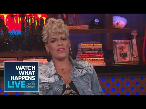 Pink Reveals Collaboration With Christina Aguilera | WWHL