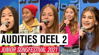 #2 AUDITIES JSF 2021 - DEEL 2 | JUNIOR SONGFESTIVAL 2021 🇳🇱