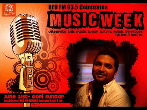 Gopi Sundar celebrates Music Week with Superhits 93 5 Red FM