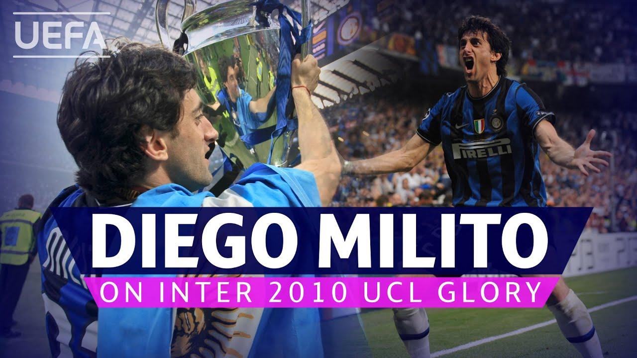 #UCL, INTERNAZIONALE, BAYERN: Diego Milito on dream Inter 2010 final