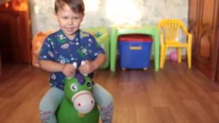 Лошадь попрыгун с музыкальным эффектом/детская игрушка и отличный подарок