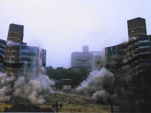 Martin Luther King Buildings - Controlled Demolition, Inc.