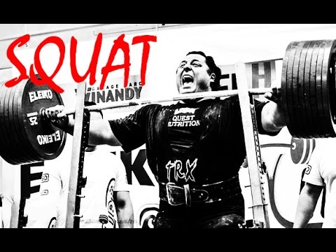 Powerlifting & Bodybuilding Motivation - SHUT UP and SQUAT