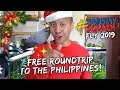 Giving Away Free Round-Trip Tickets to the Philippines (Subscribers Only) | Vlog #334