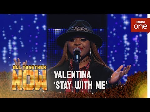 Valentina performs 'Stay With Me' by Sam Smith - All Together Now: Episode 2 - BBC One