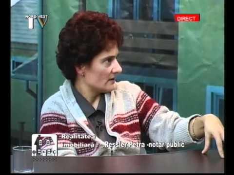 Realitatea Imobiliara 29.10.09  Invitat Dna.Ressler Petra Notar Satu Mare www.anim.ro ( 3/4 )