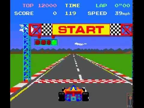Arcade Game: Pole Position 1982 NamcoAtari