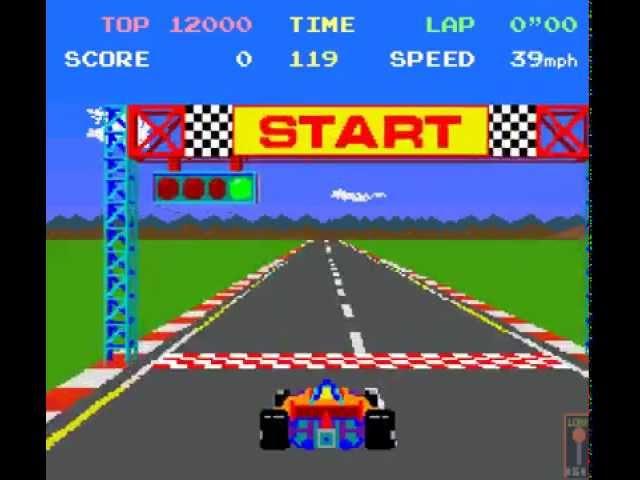 Arcade Game: Pole Position (1982 Namco/Atari)