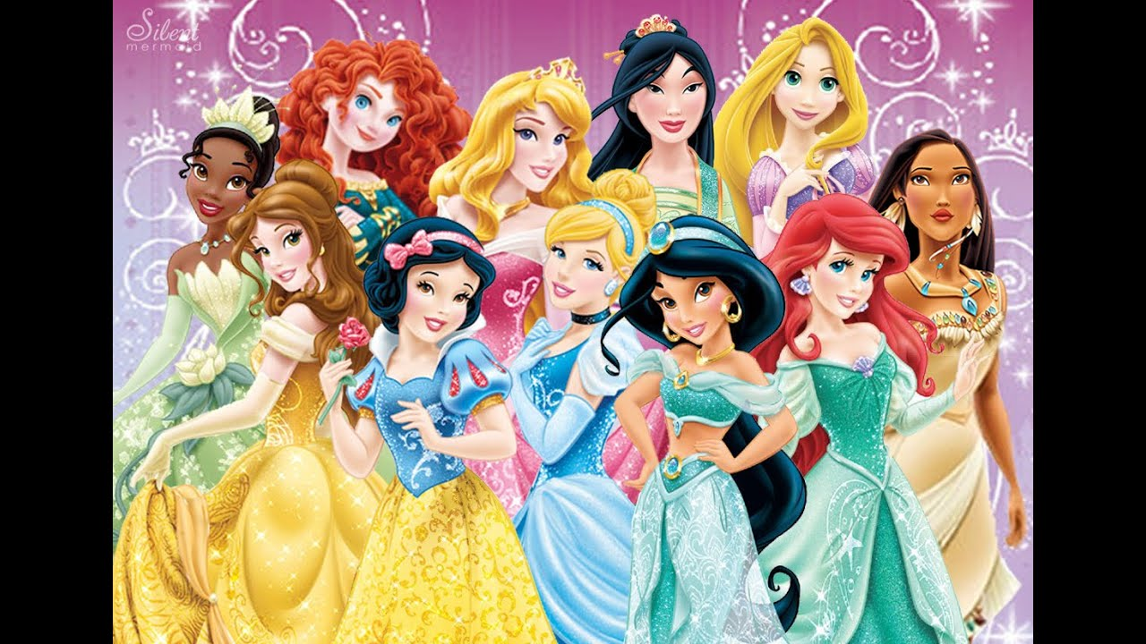 Disney princess storybook adventures youtube - Toutes les princesse disney ...