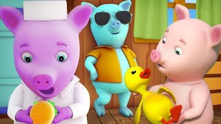 con heo nhỏ này bài hát cho trẻ em vần cho trẻ sơ sinh con heo đất bài hát This Little Piggy Song