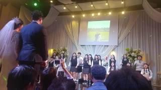 학생들의 결혼식 축가