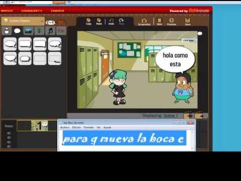Como crear v deos con caricaturas animadas youtube for Programa para hacer cocinas integrales gratis
