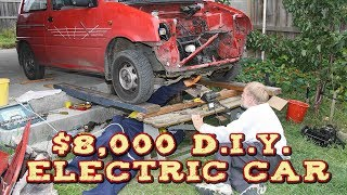 Homemade Electric Car - $8,000 D.I.Y.