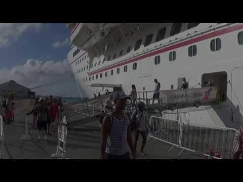 Carnival Vista at Port of Aruba.