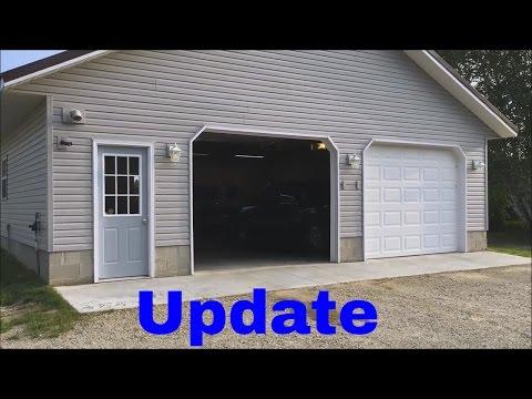 Garage Update and Walk Around