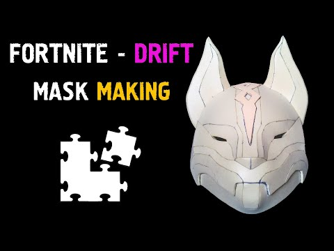FORTNITE: DRIFT MASK / DRIFT COSPLAY [FORTNITE COSPLAY]