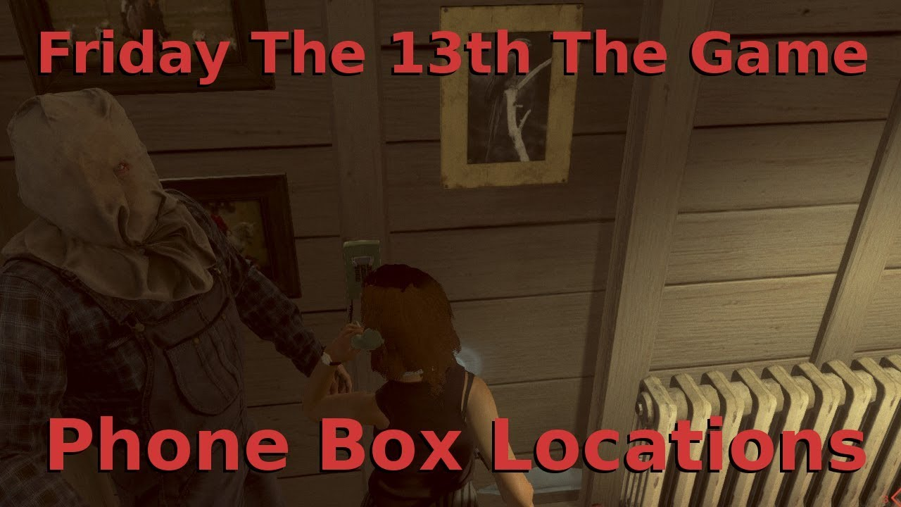 maxresdefault friday the 13th the game phone box locations youtube Packanack Lodge Friday the 13th at readyjetset.co