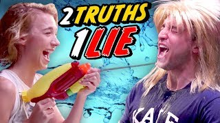 Download THE TRUTH ABOUT COURTNEY FREAKING MILLER - 2 TRUTHS, 1 LIE CHALLENGE Mp3 and Videos