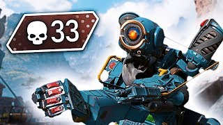 the BEST Apex Legends Console Player... (33 SOLO KILLS)