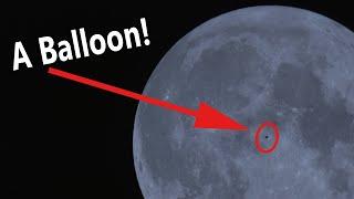 Balloon Transits Moon!