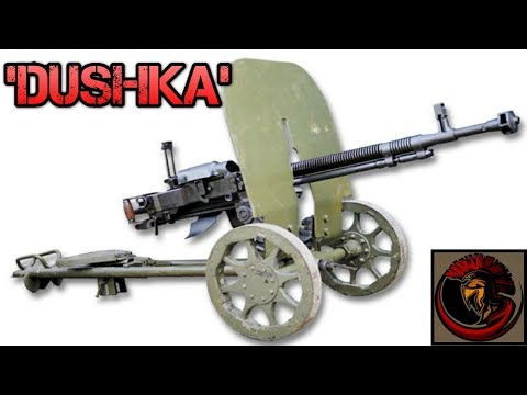 DShK 12.7mm Heavy Machinegun - Russian Firepower At It's Finest