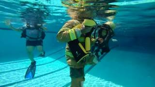 Bunker Gear Survival Training @ MDFR pool