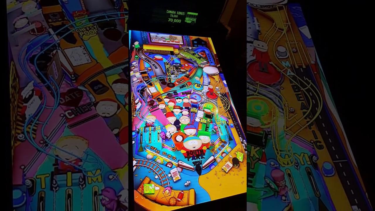 Pinball FX2: Southpark (Cabinet Mode)