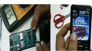 Samsung sm b 355e network  solution