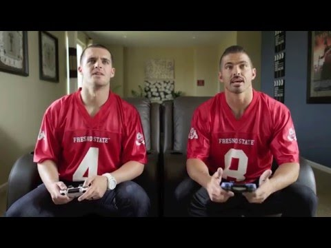 Derek and David Carr – hilarious outtakes from EECU commercials