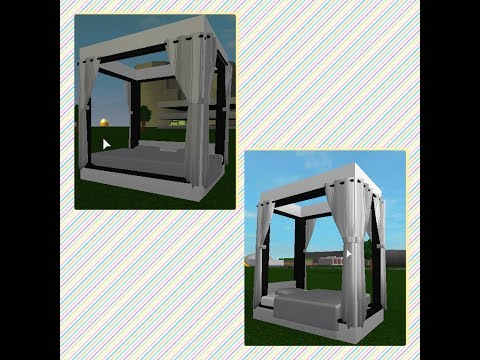 how-to-build-a-canopy-bed-/-bloxburg