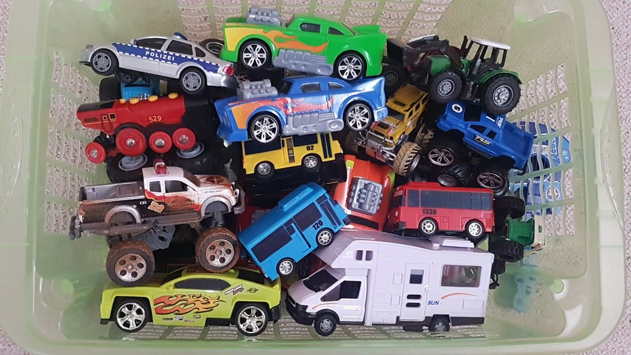 vehicles for children Play Cars for Kids from Box and Vehicle Car Toy Video for Kids