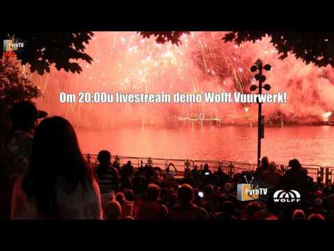 Wolff Vuurwerk demo Livestream 03-10-2015 (uncut!)