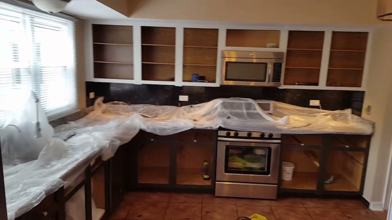 Kitchen Cabinets Refacing Chicago - YouTube