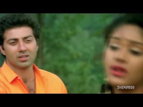 Mahiya Teri Kasam HD   Ghayal Songs   Sunny Deol & Meenakshi Seshadri   Pankaj Udhas songs